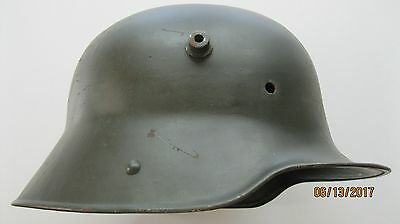 WW1 WWI Original German M-1916 Steel Trench Helmet Shell ET 64