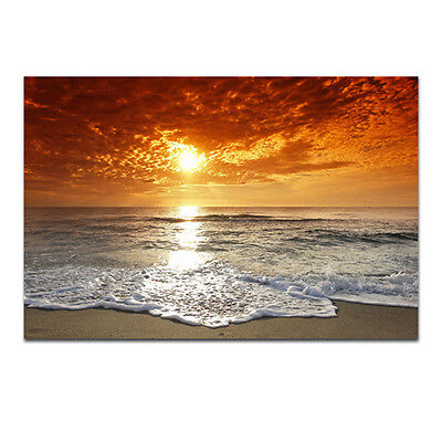 Canvas Print Painting Picture Photo Landscape Sea Home Decor Wall Art Framed