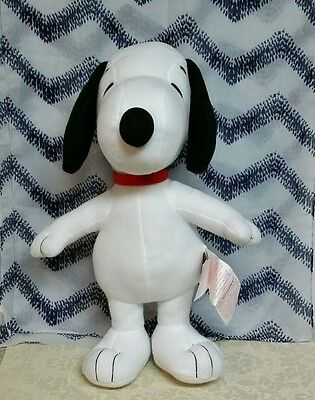 """Peanuts Snoopy Musical Cuddle Pillow/ Plush 18"""" High AVON children collectable"""