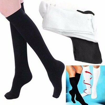 Compression Varicose Vein Stocking Running Travel Leg Relief Pain Support Socks