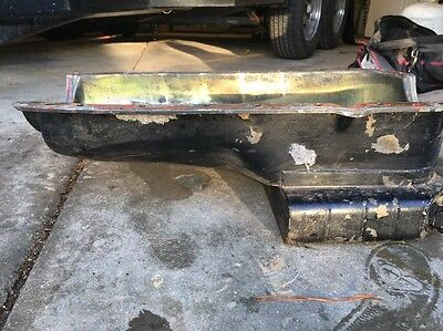 Oil Pan 455 Oldsmobile Oil Pan / Milodon 7 Quart/