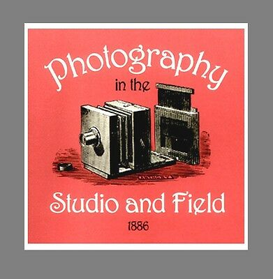 c1886 BIBLE of Photography In Studio and Field  $8