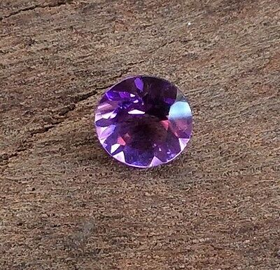 Round Cut Shape Natural Amethyst 6Mm Faceted 1 Pc Loose Gemstone