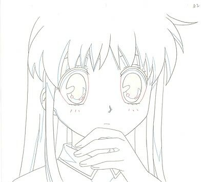 Anime Genga not Cel Fruits Basket  #45