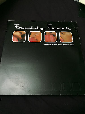 "Freddy Fresh - Freddy Hums Your Favourites (Kingsize KS 42) 12"" VGC LISTEN"