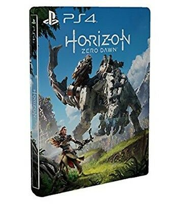 Horizon Zero Dawn Steelbook Edition ohne Spiel PS4 Leerbox Empty Case neu
