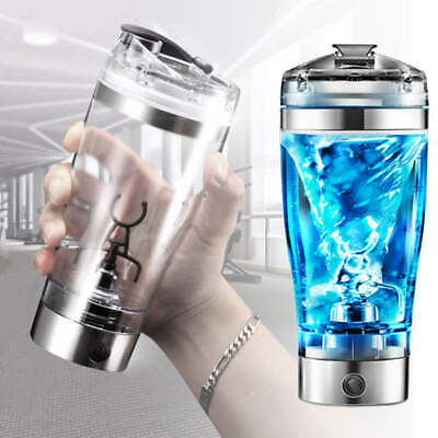 USB Rechargeable Portable Electric Protein Blender Shaker Detachable Mixer Cup