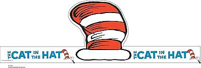 """Eureka Dr. Seuss's Cat In The Hat Wearable Hat Cut-Out, 32 Hats, Approx 8"""" Tall"""