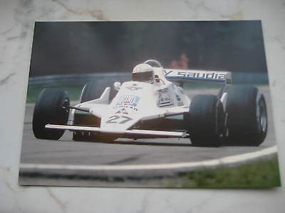 Postkarte Autogrammkarte limitiert Alan Jones Williams Card 50