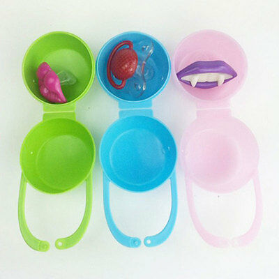 Baby Soother Container Holder Pacifier Care Dummy Box Travel Case Gift