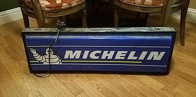 "Image Point 2005 Michelin Tires 56 Amp 120V-60H Electrical Hanging Sign 36.5""l"
