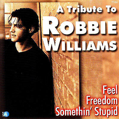 A Tribute To ROBBIE WILLIAMS CD 18 Tracce NUOVO & CONF. ORIGINALE