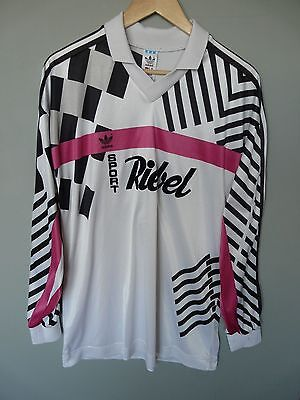 Vtg Adidas 90's Football Shirt Trikot Jersey #10 Sz Large* (340)