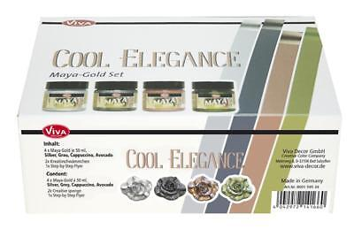 "Viva Decor, Maya-Gold Set ""Cool Elegance"", 7-teilig"