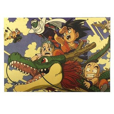 Vintage Dragon Ball Poster Scale Map Paper Posters Decor 51*35.5 cm Collection