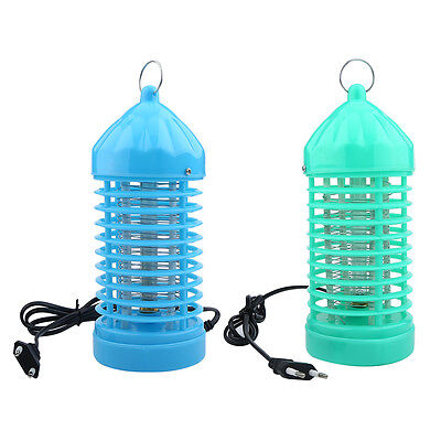 Electric Mosquito Killer Light Fly Bug Insect Moth Zapper Trap Catcher Lamps GF