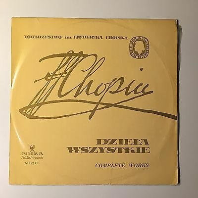Regina Smendzianka Chopin Piano Concerto No. 2 in F Minor op. 21 Vinyl LP