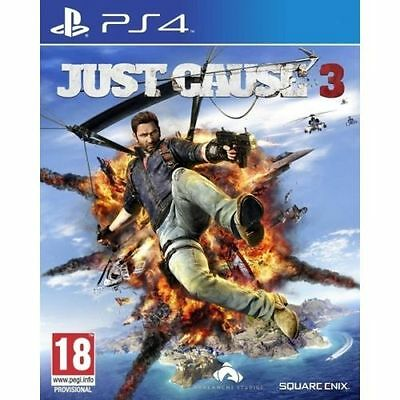 Just Cause 3  PS4 Playstation 4 Game  Brand New In Stock From Brisbane