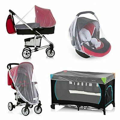 Mosquito Bug Net Cover Baby Stroller Bassinet Car Seat Cradle Protect Fly Insect