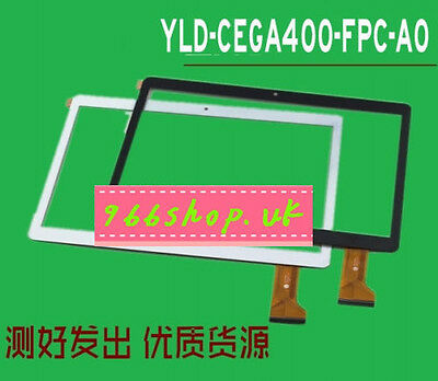 NEW For 10.5 '' black Touch Screen Digitizer glass For YLD-CEGA400-FPC-A0