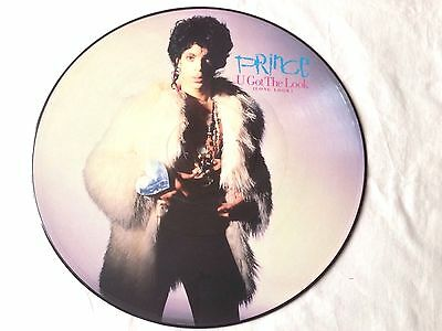Prince U Got The Look Special Ltd Edt12' 45 Picture Disc W8289Tp 1987 Uk Orig Nm