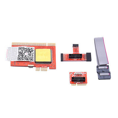 Diagnostic LCD Analyzer Tester Test debug Post Card for PC Laptop Notebook PCI