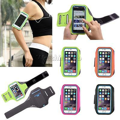 For iPhone 7 6S Plus Armband Case Sport GYM Running Exercise Arm Band Holder