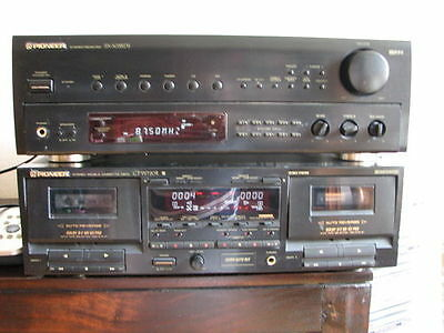 Pioneer Turm CT-W72OR SX 303RDS Stereo Cassetten Deck Receiver