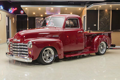 1953 Chevrolet 3100  Pickup Restomod! Edelbrock 355ci Crate V8, 700R4 Automatic, PS, PB, Disc, A/C