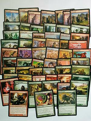 MTG Pre-Built Red/Green Gruul 60 Card Deck including 7 Rares!