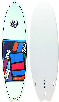 """Cortez '10 Series' Sanded Epoxy Fish 6'6"""" - 004 - Brand new with fins £289!"""
