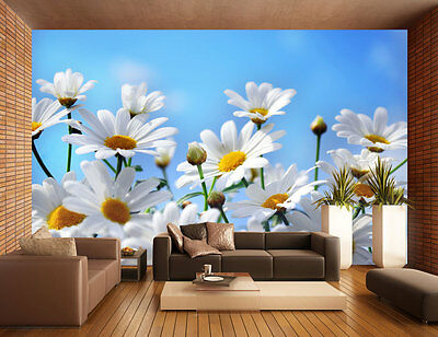 fototapete weisse blumen tapete xxl wandbild. Black Bedroom Furniture Sets. Home Design Ideas