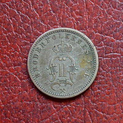 Norway 1883 silver 10 ore