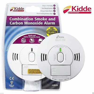 Kidde Smoke and Carbon Monoxide Detector Combined  Alarm 10SCO
