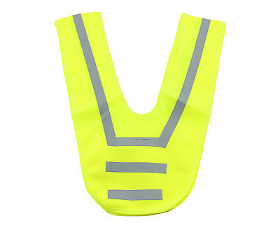 Neon Safety collar High visibility vest Warn choker Signal New