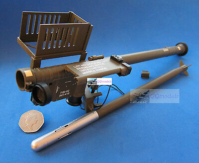 Manpads FIM-92 Infrared Surface to Air SAM Stinger Missile 1:6 Scale Model F92
