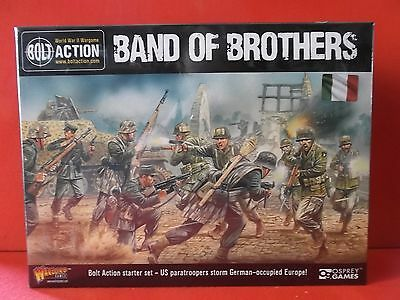 """BOLT ACTION """"Band of brothers"""" Starter Set Versione ITALIANA (Warlord)"""
