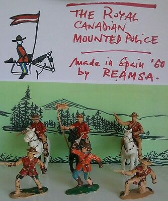 The Royal Canadian Mounted Police by REAMSA - 60' years made in Spain