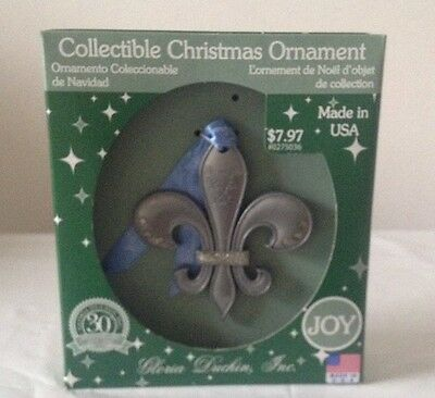 Fleur De Lis Collectible Christmas Ornament by Gloria Duchin, Inc