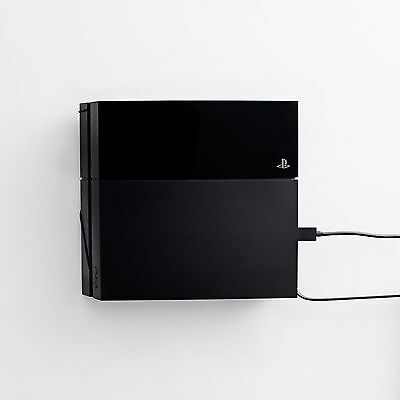 Ultra slim wall mount for PlayStation 4 by FLOATING GRIP