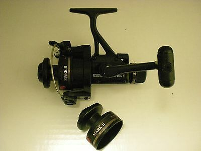 Used Vintage Shimano Mark Ii Quickfire Spinning Reel W/ Xtra Spool Made In Japan