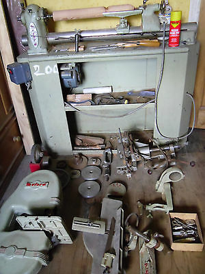 Myford ML8 WOODWORKING LATHE, PLANER, BANDSAW, MORTICE WORK STATION