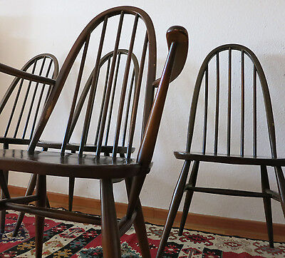 1 Ercol Windsor chair Stühle Landhaus  Armlehnstuhl carver chair