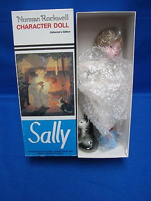 1982 Norman Rockwell SALLY doll in Original Box by Rumbleseat Press RPI/NR-16