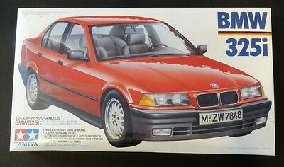 ~ Sealed! Rare ~ Tamiya 1/24 BMW 325i (E36) * detailed engine, chassis #24106