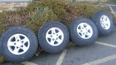 Land Rover Defender Boost Alloys And Tyres