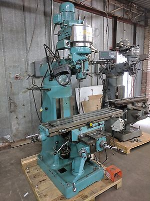 "Enco 9""x42"" Milling Machine w/ ACU-RITE DRO + Power Feed/jog"