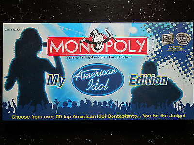 Monopoly: The American Idol, board game, Brand New & Sealed