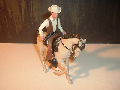 1960's Gil Favor Hartland Mini Statue and Horse & Hat Complete