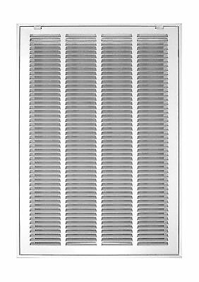 Accord ABRFWH2025 Return Filter Grille with 1/2-Inch Fin Louvered 20-Inch x 2...